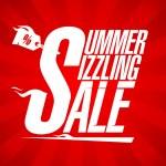 Summer sizzling sale design — Stock Vector #46861475