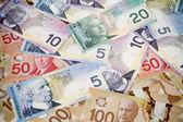 Money seamless background — Stock Photo