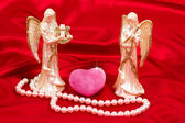 Angels love keepers — Stock Photo