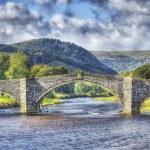 Bridge in North Wales — Stock Photo #13856111