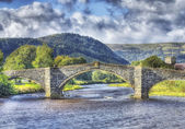 Bridge in North Wales — Stock Photo