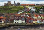 Whitby Harbour — Stock Photo