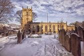 Church in Snow — Stock Photo
