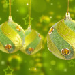 Christas baubles - Stock Photo