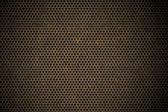 穿孔金属背景 — 图库照片