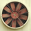 Stock Photo: Old industrial fan