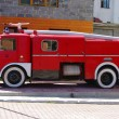 Stock Photo: Antique Fire Engine