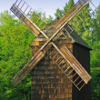 Ancient wooden windmill  — Stock Photo
