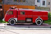 Antique Fire Engine — Stock Photo