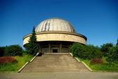 天文台的正面视图 — 图库照片