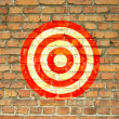 Target painted on the wall - Photo