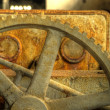 Royalty-Free Stock Photo: Rusty gear closeup hdr photo