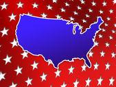 America Four July Wallpaper. Patriotic USA wallpaper. — Stock Photo