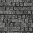 Stock Photo: Granite cobblestoned pavement background.