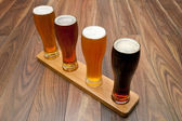 Beer Flight. — Stock Photo