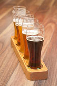 Beer Flight. — Stock Photo