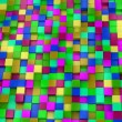 3d colored cubes background, colorful mosaic — Stock Photo #46489019