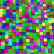 3d colored cubes background, colorful mosaic — Stock Photo #46489049