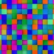 3d colored cubes background, colorful mosaic — Stock Photo #46489073