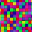 3d colored cubes background, colorful mosaic — Stock Photo #46489091