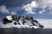 Sailing down the Lemaire Channel, Antarctica — Stock Photo