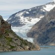 Glacier in Prins William Sound, Greenland — Stock Photo
