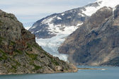 Glacier in Prins William Sound, Greenland — Stockfoto