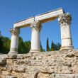 Stock Photo: Ancient ruins of Corinth, Greece