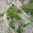 Stock Photo: Hairpin bends, Italy