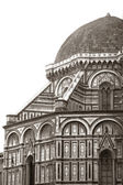 The Baptistry of St John (Battistero di San Giovanni), Florence, Italy — Stock Photo