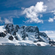 Stock Photo: Sailing down Lemaire Channel, Antarctica