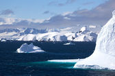 Cruising down the Gerlache Strait, Antarctica — 图库照片