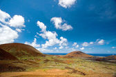 Red Landscape, Ascension Island — 图库照片