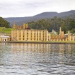 Port Arthur Historic Convict Site from the water, Tasmania, Australia. — Stock Photo