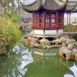 Pagoda in the Humble Administrator's Gardens, Suzhou, China — Stock Photo