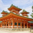 UNESCO Ancient Shinto Shimogamo Shrine (also known as Shimogamo-jinja) in Kyoto, Japan. — Stock Photo #37859099