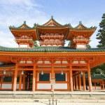 The UNESCO Ancient Shinto Shimogamo Shrine (also known as Shimogamo-jinja) in Kyoto, Japan. — Stock Photo