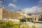 Temple Mount in the Old City of Jerusalem, Israel. — Stock Photo