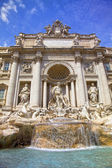 Trevi Fountain (Fontana di Trevi) in the Trevi Rione in Rome, Italy. — Photo