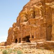 Stock Photo: CorinthiTomb, Petra, Jordan.