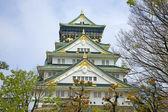 Main tower of the Osaka Castle, Osaka, Japan. — Stock Photo