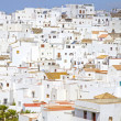 Stock Photo: Pueblo Blanco or white village of Vejer de lFrontera, Andalusia, Spain.