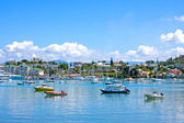 Noumea harbour, New Caledonia, South Pacific. — Stock Photo