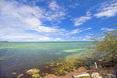 Looking out to the South Pacific Ocean from Noumea, New Caledonia, South Pacific. — Stock Photo