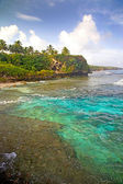 Alofi coastline, Niue Island, South Pacific. — Stock Photo