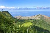 Landscape of St Helena Island. — Stock Photo