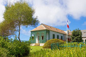 Longwood House which was the residence of Napoleon during his exile to St Helena. — Stock Photo