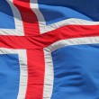 Foto Stock: Icelandic flag