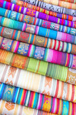 South American hand made colourful fabric, Peru. — Φωτογραφία Αρχείου