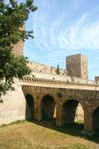 Swabian Castle or Castello Svevo, (Norman-Hohenstaufen Castle), Bari, Apulia, Italy — Foto de Stock